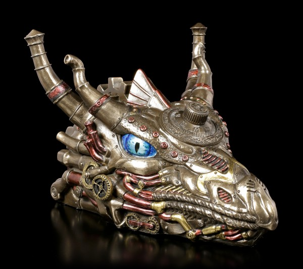 Dragon Head Box - Steampunk Dracus Vault