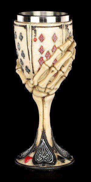 Skeleton Goblet - Dead Man's Hand