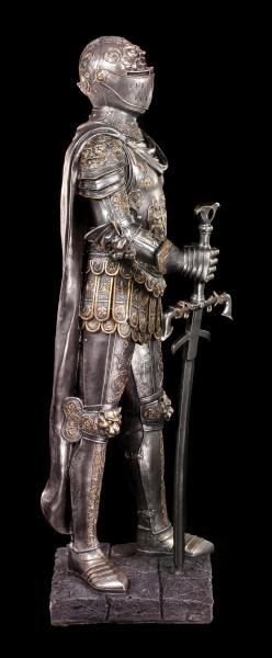 Große Ritter Figur mit Schwert