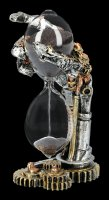 Steampunk Skeleton Hand Hourglas - Time after Time
