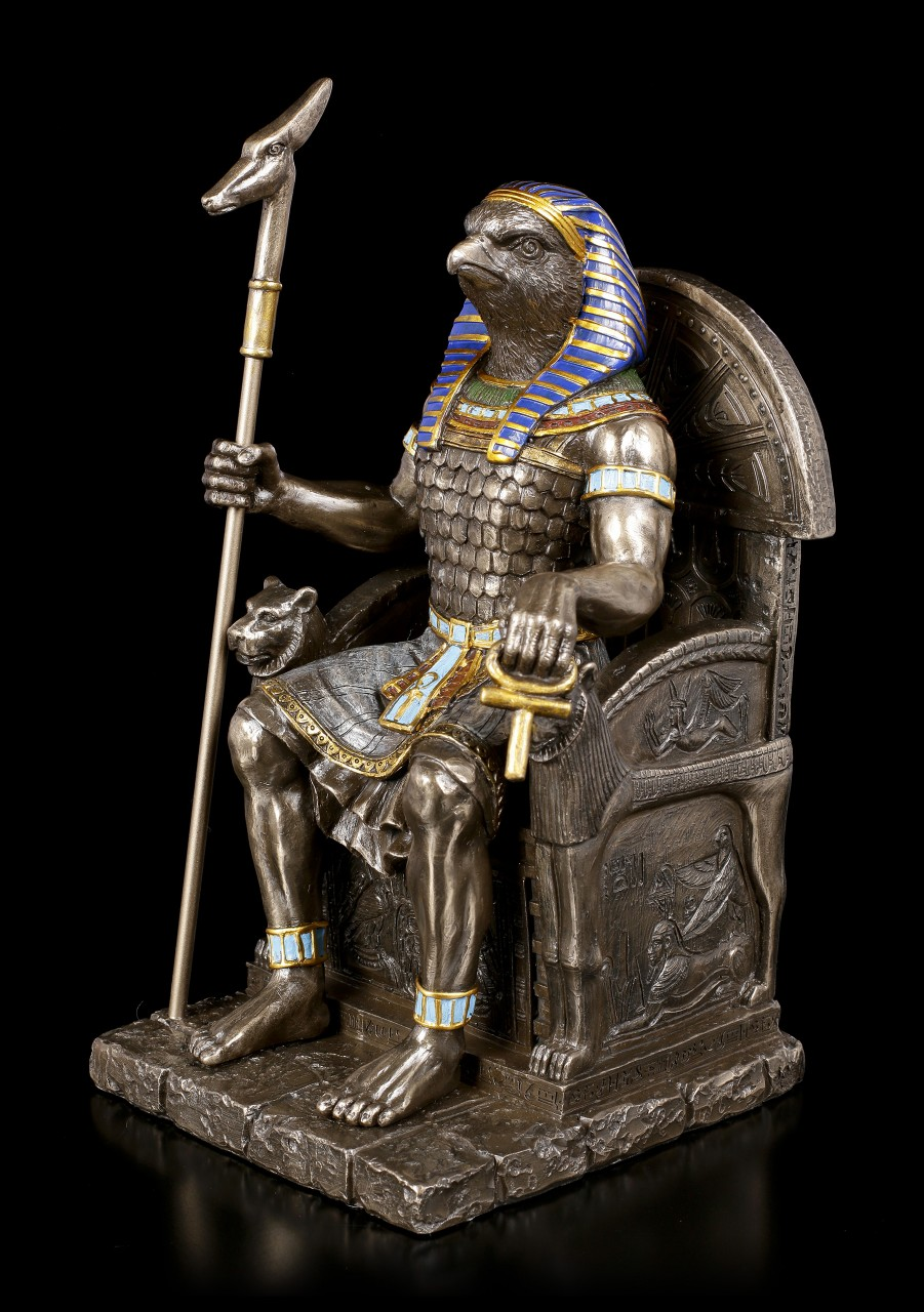 Horus Figurine - Warrior on Thrones