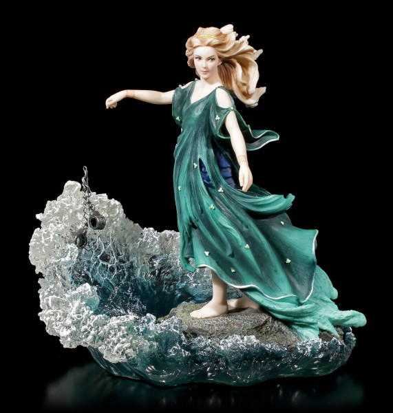 Woman Figurine throws Fetters into the Sea - Dechainee