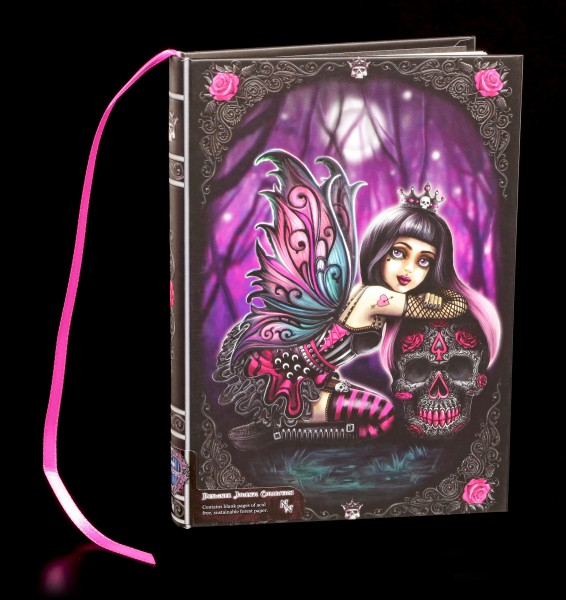 Notizbuch mit Gothic Elfe - Lolita