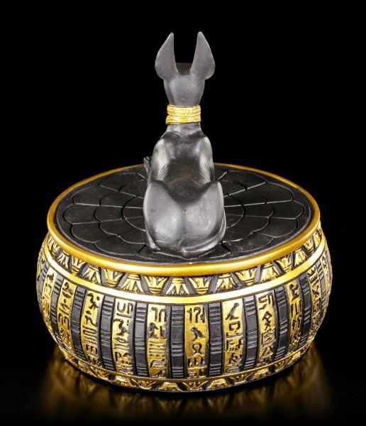Anubis Figur als Schatulle