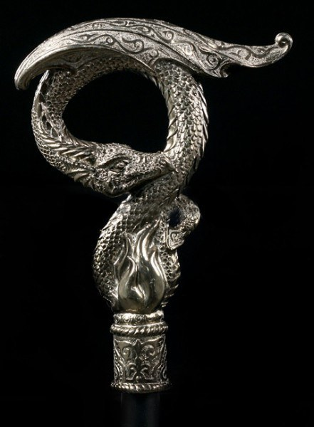 Swaggering Cane with Dragon - From the Ashes