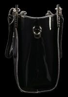Lack Handtasche mit 3D Motiv - Dragon Beauty