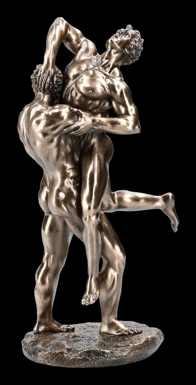 Hercules Figurine Fighting with Antaeus