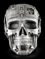 Cyborg Totenkopf Schatulle