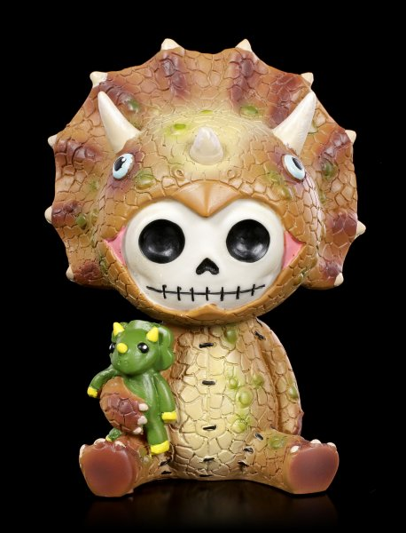 Large Furry Bones Figurine - Spike