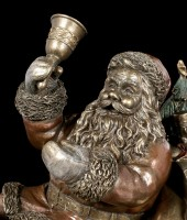 Santa Claus Figurine on Sleigh