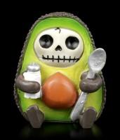 Furry Bones Figurine - Hass Avocado