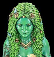 Himmlische Gaia Figur - Mutter Erde - groß bemalt