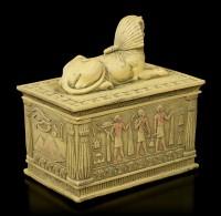 Sphinx Schatulle - sandfarben