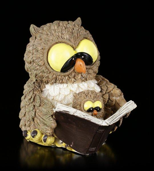Funny Owl Figurine - Granny