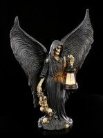 Reaper Figur mit LED Laterne