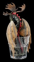 Drachen Figur - Vodka