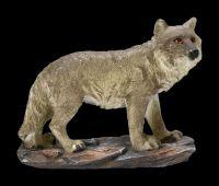 Wolf Figuren 4er Set - Wildes Rudel