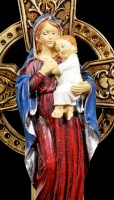 Holy Water Font - Madonna with Jesus Child