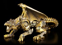 Steampunk Drachen Figur - Mechanisches Gebrüll