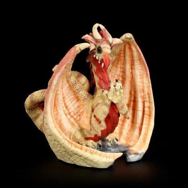 Dragon Figurine Dragonsite - Rubyott Oricle