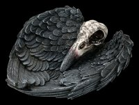 Schale - Rabenschädel Edgar's Raven