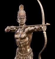 Ochosi Figur - Göttlicher Jäger mit Pfeil und Bogen