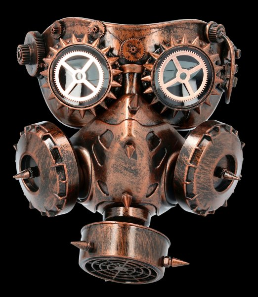 Steampunk Gas Mask - Alien Attack