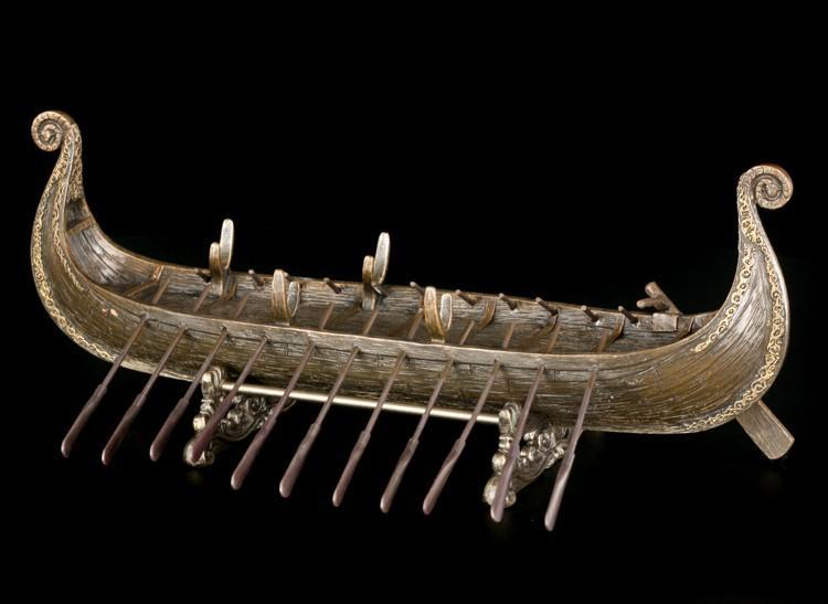 Viking Ship with Base | Miscellaneous | Vikings | Cultures