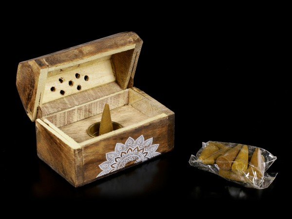 Karma Räucherbox - Sandelholz