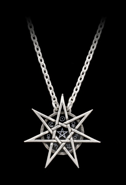 Alchemy Wiccan Necklace - Elven Star
