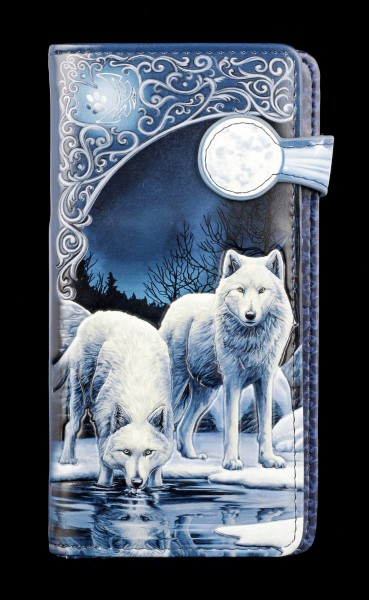 Purse with Wolves - Warriors of Winter - embossed