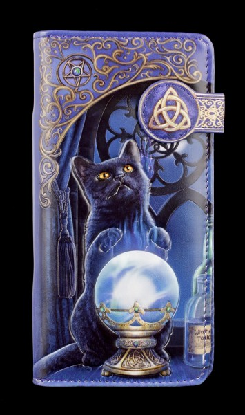 Purse with Cat - The Witches Apprentice - embossed