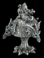 Dreiköpfige Drachen Schatulle