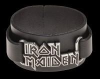 Iron Maiden Leather Wriststrap - Alchemy Rocks