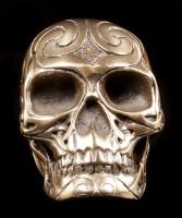Small Celtic Skull bronze