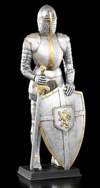 Ritter Figur - Rüstung mit Schwert und Schild