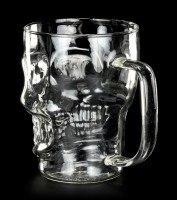 Skull Glass Mug