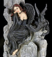Backflow Incense Cone Burner - Dark Angel