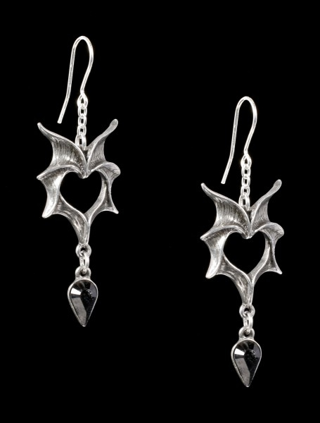 Alchemy Ohrringe - Love Bats