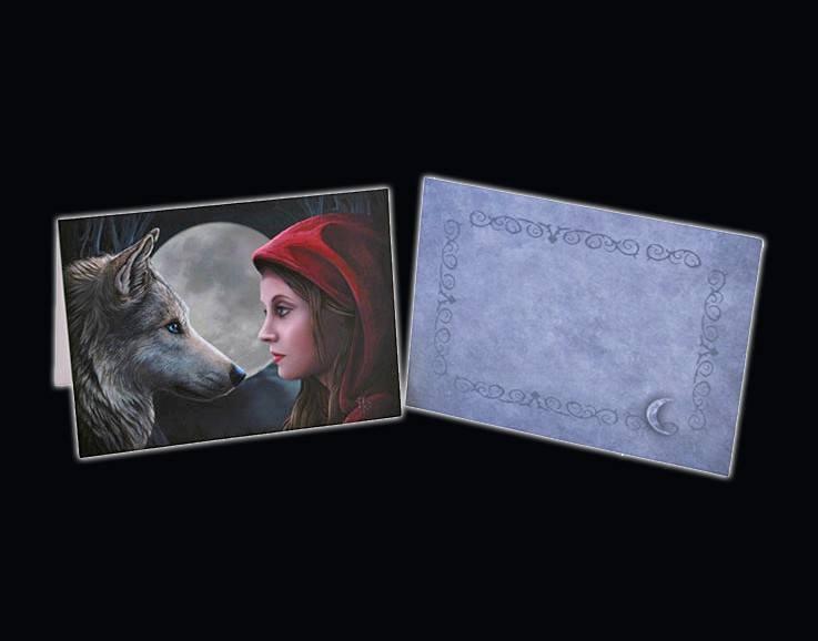 Grußkarte Moonstruck inkl. Umschlag