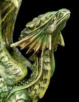 Adult Forest Dragon Figurine
