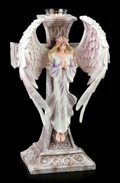 Teelichthalter - Angelus - Die Wächterin