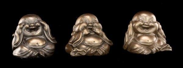Drei Weise Buddha Figuren - Nichts Böses