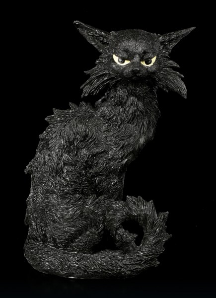 Back Cat Figurine - Salem
