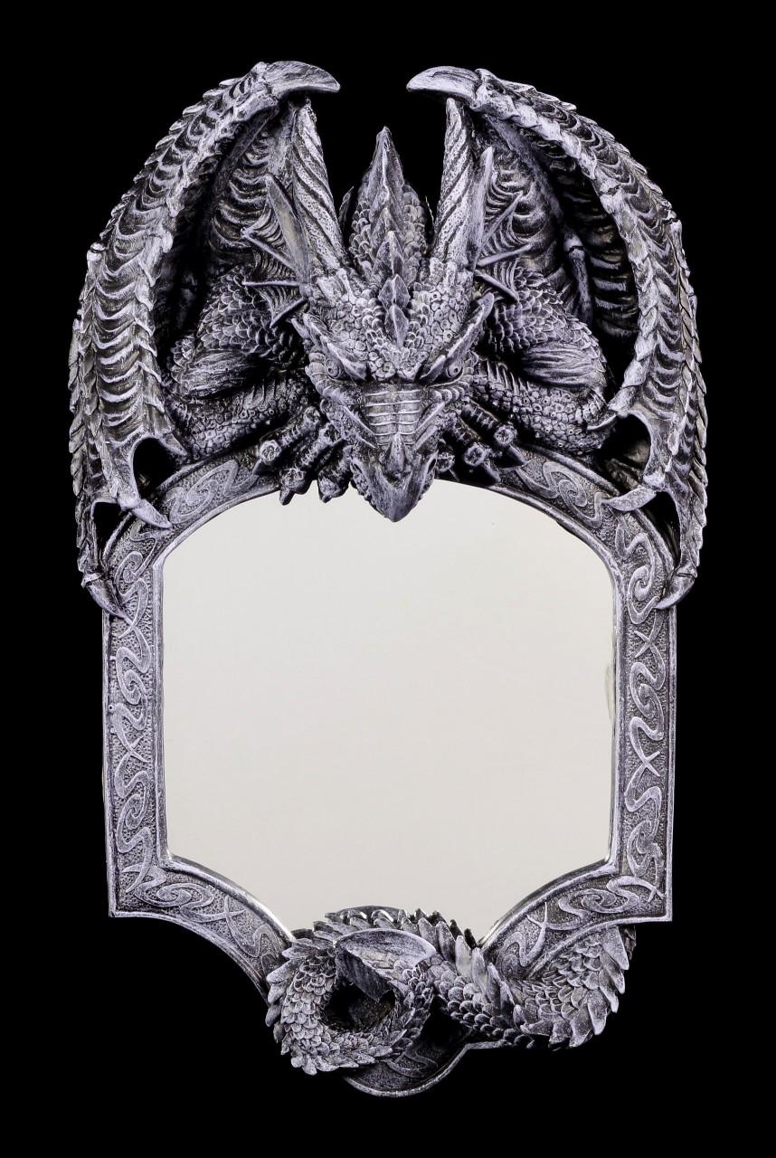 Drachen Wandspiegel - Seelenwächter