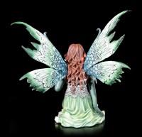 Elfen Figur mit Drachen - Dragon Whisper