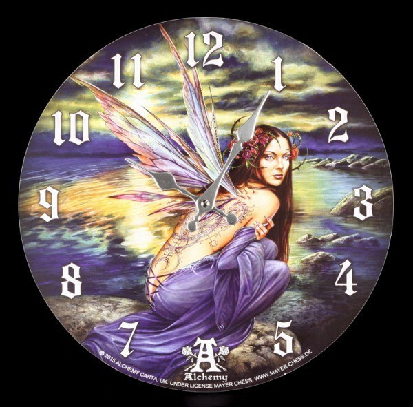 Wanduhr Fantasy - Sylundine - Alchemy