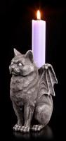 Kerzenhalter - Katzen Gargoyle
