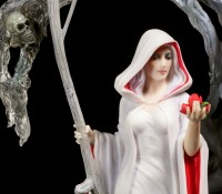 Anne Stokes Figur - Life Blood - Weiblicher Reaper