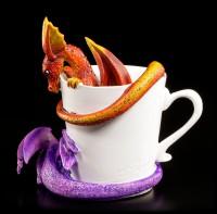 Drachen Figuren in Tasse - Wake Up Dragons